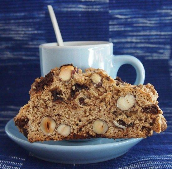 Kaffeezeit ... mit knusprig-zimtigen Haselnuss-Espresso-Schoko-Cantuccini - Schokohimmel