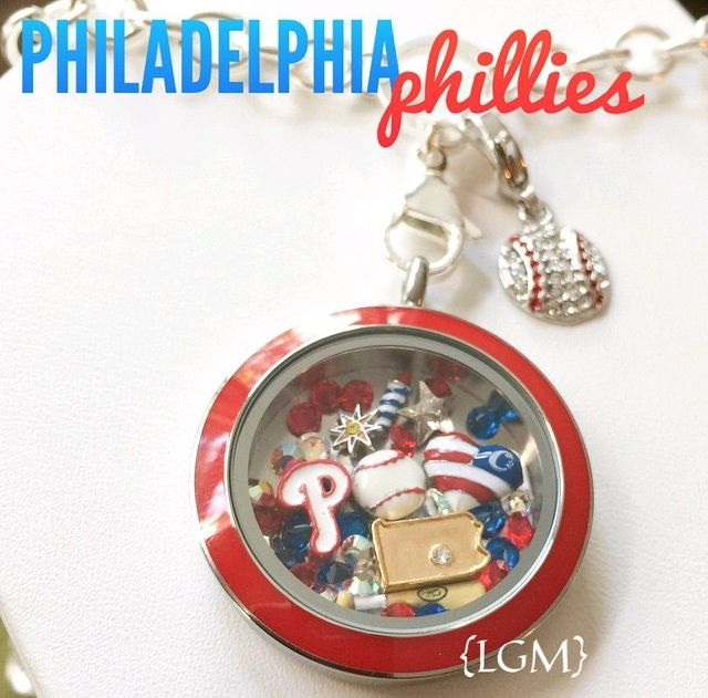 Origami Owl NEW {MLB Summer Collection} www.jessicacooper.origamiowl.com #origamiowl #summercollection #MLB