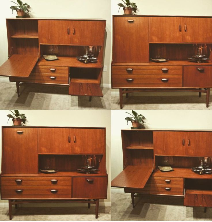 Mid Century G Plan bar and buffet