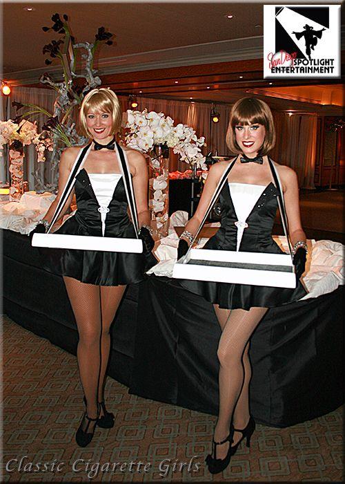 Classic Cigarette Girls by San Diego Spotlight ...