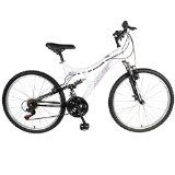 Mantis Women's 26 Orchid Full Suspension Bicycle, 17-Inch/One Size, White Pearl/Purple - http://cyclesuperstore.exercise-equipment-for-home.com/mantis-womens-26-orchid-full-suspension-bicycle-17-inchone-size-white-pearlpurple/