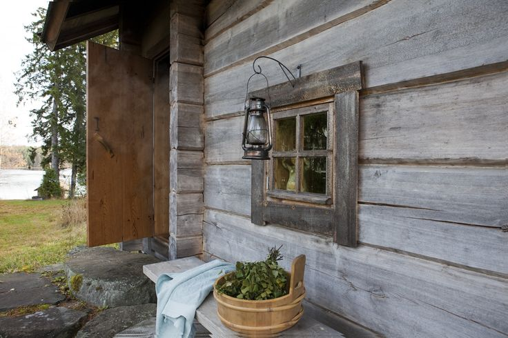 "Exterior of the traditional Juuka based smoke sauna introduced in the Wall Street Journal article ""Heat on Haute Style"" on Oct. 17th. 2013. Full article can be found here: http://on.wsj.com/16lSAxo"