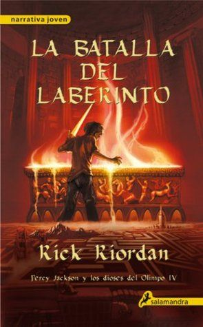 La batalla del laberinto: Percy Jackson y los dioses del Olimpo IV: