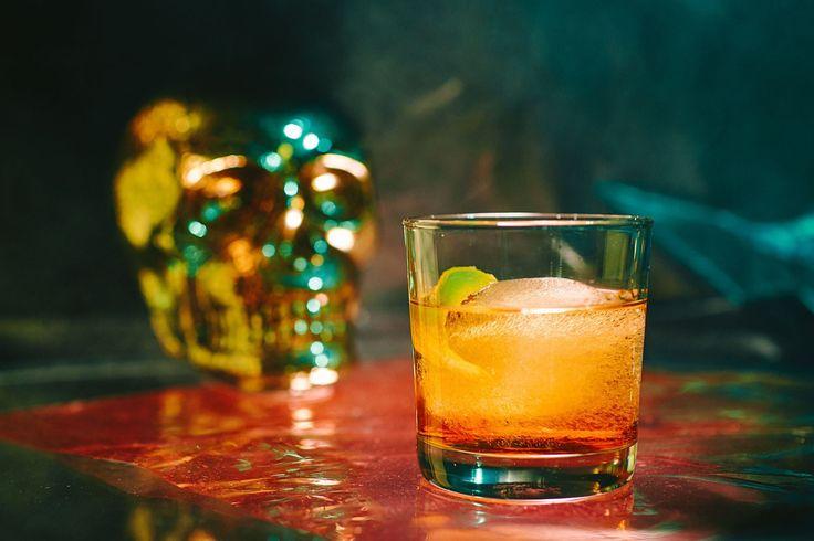 Cocktail inspiration : Ghoul's Negroni 1 oz G'Vine Gin Floraison 1 oz Suze Saveur d'Autrefois 1 oz La Quintinye Vermouth Royal Blanc