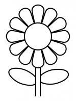 bloem sjabloon