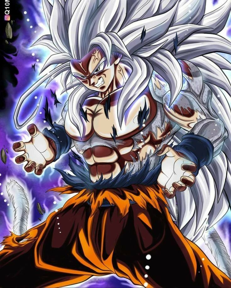 Super Saiyan 5 Anime Dragon Ball Super Dragon Ball Super Manga Anime Dragon Ball