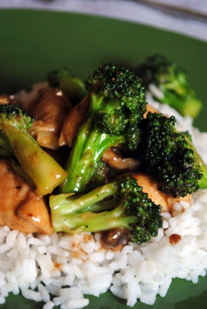 Chicken  Broccoli Stir Fry Awesome Substitute Apple -8505
