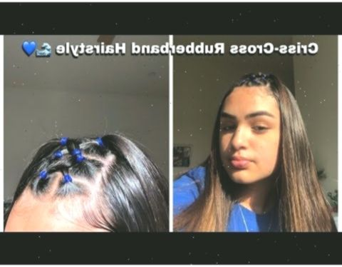 33++ Rubber band hairstylesstraight hair ideas in 2021