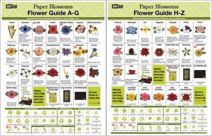 56 Best Images About Mcgill Paper Blossoms On Pinterest