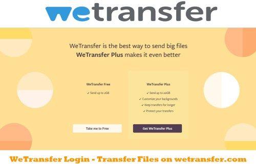 Wetransfer Login Transfer Files On Bingdroid