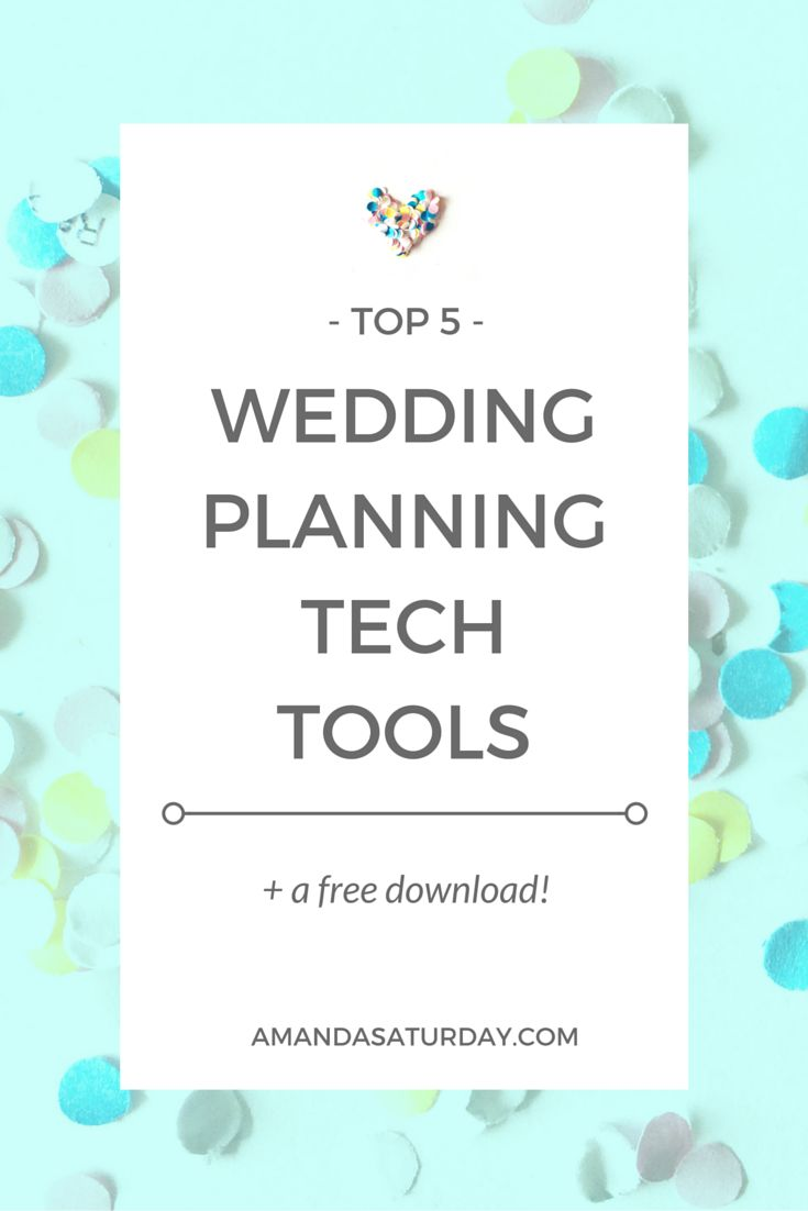 80 best how to plan a wedding images on pinterest wedding ideas keep all of your wedding plans at your fingertips with these top 5 tech tools junglespirit Choice Image