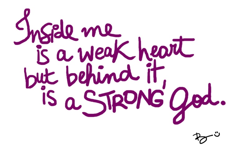Strong God!