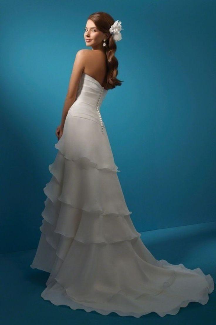 112 best Wedding images on Pinterest   Bridal gowns, Short wedding ...