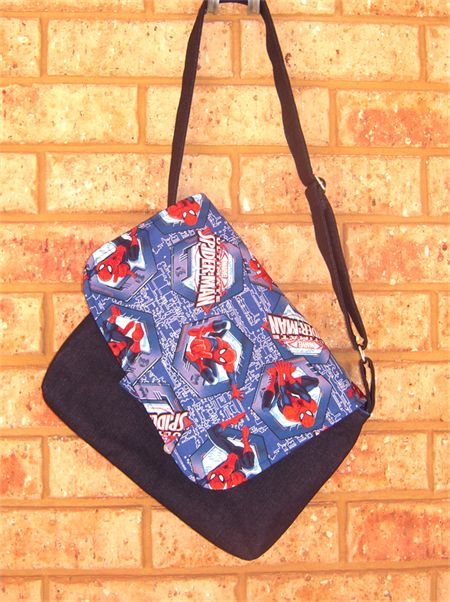 Spiderman Messenger Bag - Mumma Who Makes