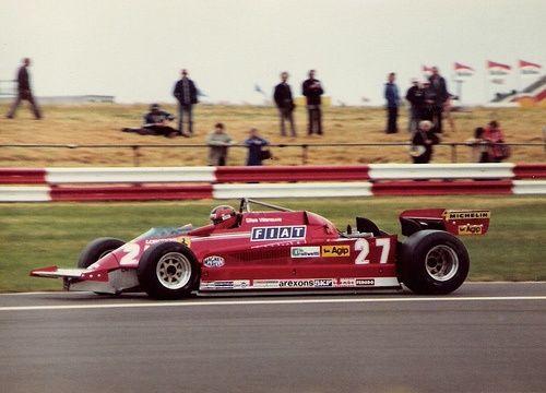 Gilles Villeneuve Silverstone 1981