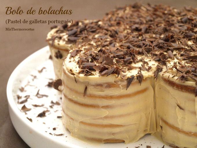 Bola de bolachas (Pastel de galletas portugués) - MisThermorecetas
