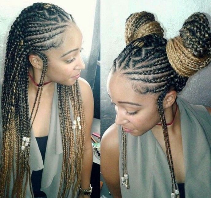 Alicia Keys inspired braids