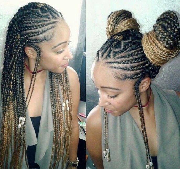 Alicia Keys inspired braids
