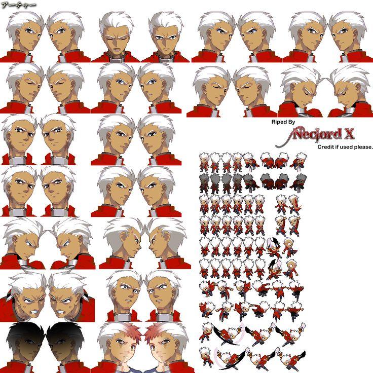 Facial expressions archer
