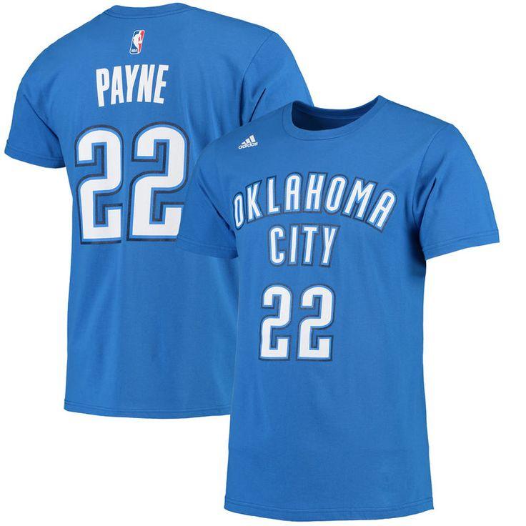 Cameron Payne Oklahoma City Thunder adidas Net Number T-Shirt - Blue