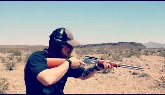 Do our straps make you shoot straighter? Idk.  #Repost @bulletsandbeards ・・・ One of my favorite guns to shoot. Just pure enjoyment. This is the Rossi Lever action 410 shotgun. So much freedom I cant hardley contain myself. Maybe I should run it in a 3 gun match.😂😂🇺🇸🇺🇸🇺🇸🇺🇸🇺🇸 #bulletsandbeards #leveraction #shotgun #levergun #western #zombiegun #thewalkingdead #pewpewpew #pewpewlife #gunslinger #igshooter #merica #freedom #dtom #libertyordeath #gunsdaily #sickguns #beard #beardlife…