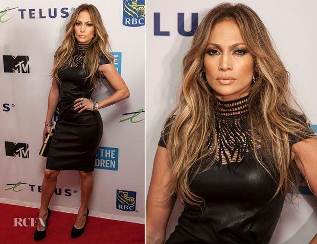 Jennifer Lopez In Jitrois – 'We Day Vancouver'