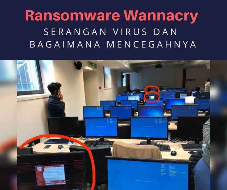 Ransomware wannacry #virus #viruswannacry