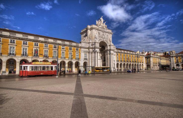 Praça do comercio, lisboa, portugal