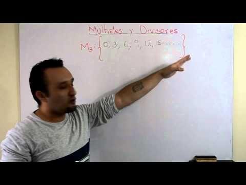 MÚLTIPLOS Y DIVISORES | Clases Gratis de Matemáticas - YouTube