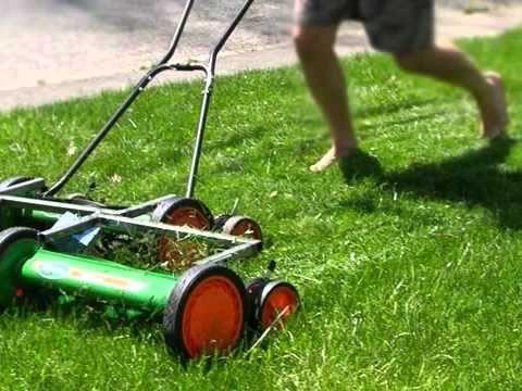scotts classic reel mower manual
