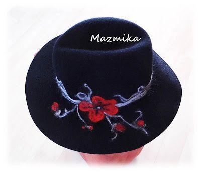 Filcowa metamorfoza kapelusza.