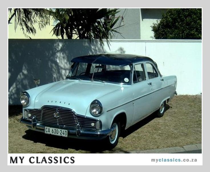 1959 Ford Zephyr classic car