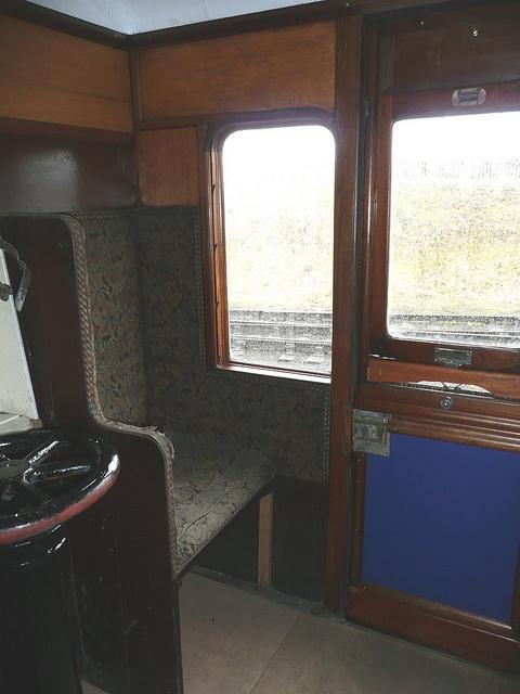 Victorian Railway Carriage Interior 1 By Terry Pinnegar