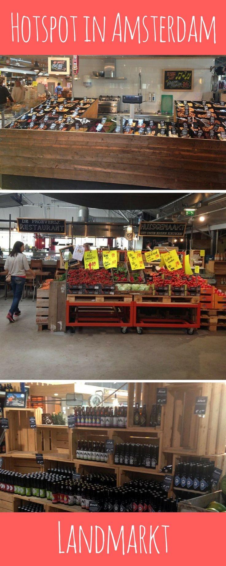 Landmarkt is een overdekte markt in Amsterdam waar je terecht kunt voor al je verse boodschappen en altijd iets nieuws te ontdekken is.
