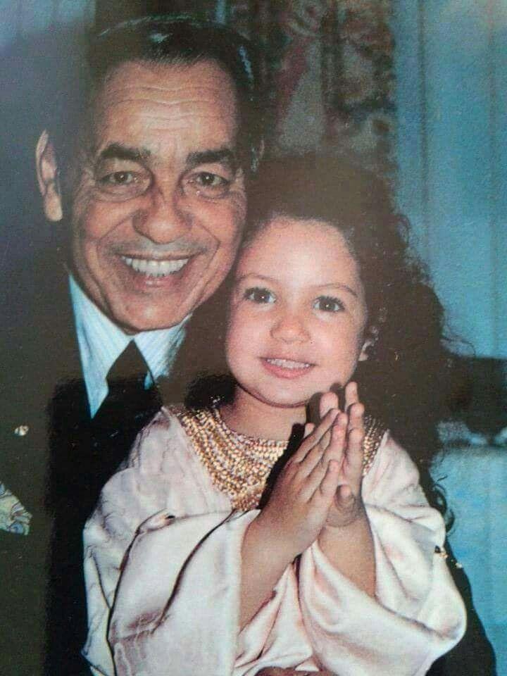 Feu SM le roi Hassan2 et Lalla Soukaina