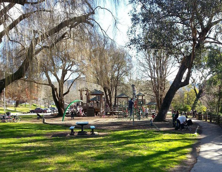 Howitt Park, Bright, playground, adventure