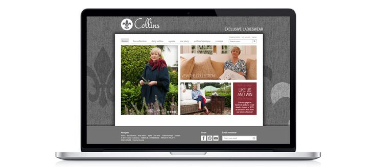 Collins Collection - Exclusive Ladieswear: Responsive eCommerce Website Design, Development and Management by Electrik Design Agency www.electrik.co.za