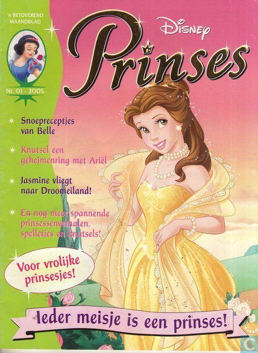 Strips - Belle en het beest - Disney Prinses 1