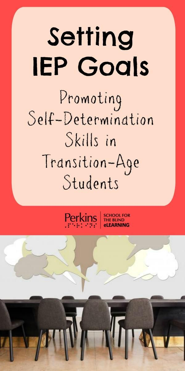 how to develop self determination skills