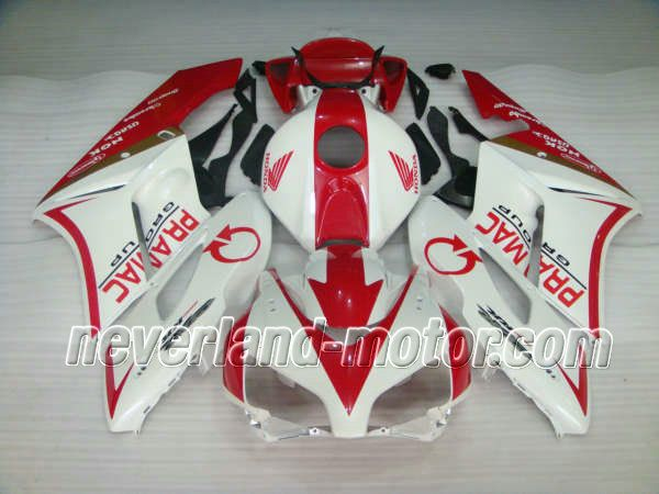 Honda CBR 1000RR 2004-2005 ABS Fairing - PRAMAC #2004hondacbr1000rrfairingkit #05cbr1000rrfairings