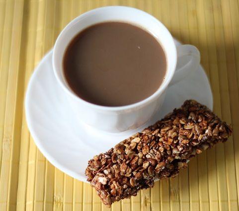 Baton musli z nutką czekolady