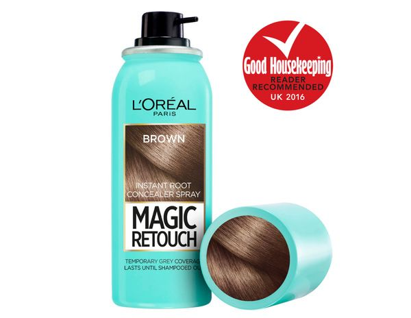 Magic Retouch. Perfectly match hair colour and blend leading salon shades using Magic Retouch. Our instant concealer will cover greys and ro...
