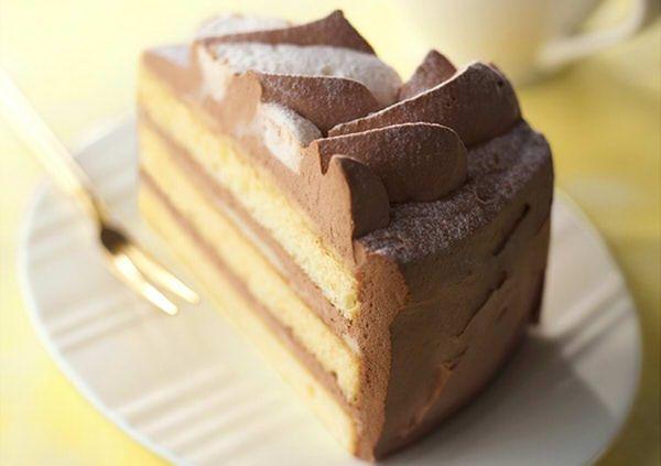 ふんわり軽い「ショコラケーキ」