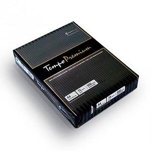 Resma A4, Tempo Premium, 75 gramos
