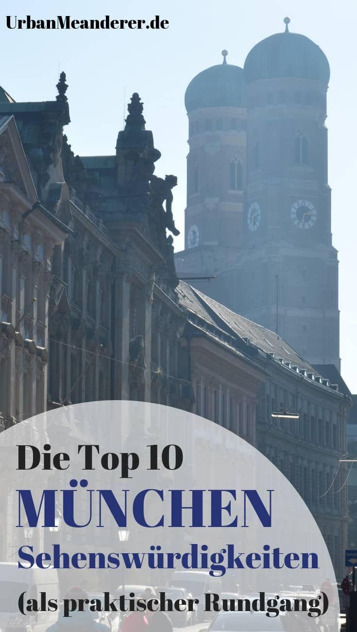 Die perfekte Route entlang der Top 10 München Sehenswürdigkeiten (+ Tipps
