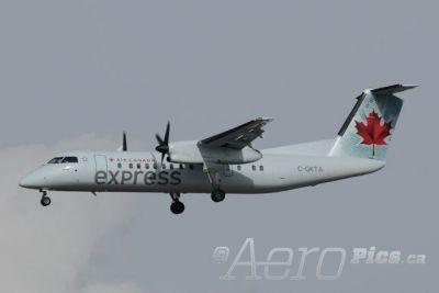 """Image result for De Havilland """"DHC-8-300 Dash 8"""" air canada vancouver victoria"""