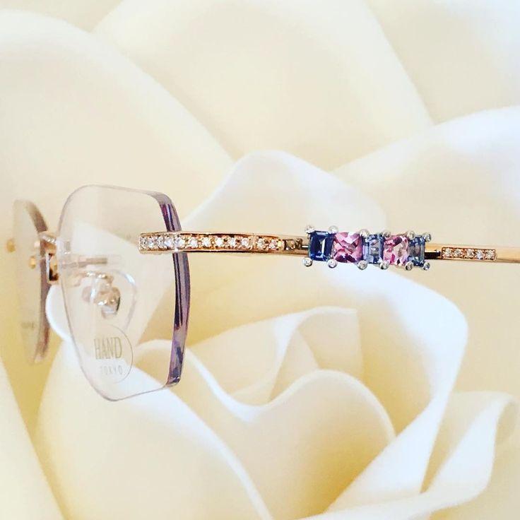 K18PinkGold/Pt900/ Imperialtopaz/Sapphire/Diamond 「暁 Dawn」 ¥1,850,000  #glasses  #lunettes #occhiali  #アイウェア #jewelry #eyewear  #japan #メガネ #眼鏡 #ジュエリー #bijoux #gioielli #optical #mido2017 #instagram #diamond #sunglasses #مجوهرات #Brille #optician #luxurious #gold #tortoiseshell #luxury #garrard #Watches #celebrity #fashion #sapphire http://tipsrazzi.com/ipost/1524661600861446888/?code=BUor6XiBmLo
