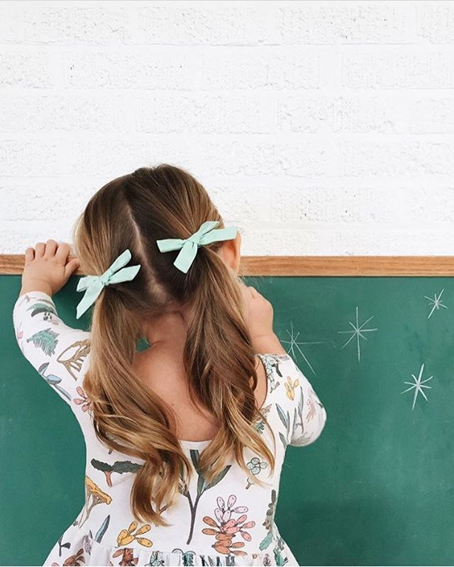 Click to shop handcrafted hair bows by Wunderkin Co. The perfect hair bow to embolden your baby's, toddler's or little girls free spirit and individual style. Handmade by moms in the USA and guaranteed for life.