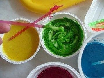 Как сделать краски для детей