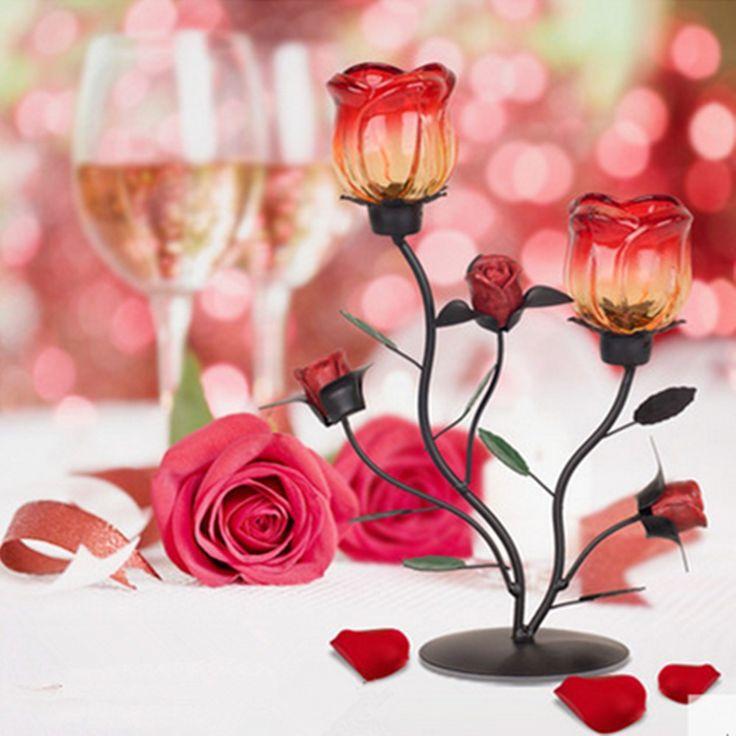 Grande cristal de casamento mesa vela decoração de casa, Atacado de ferro vela para peças centrais do casamento em Vela Titulares de Home & Garden no AliExpress.com | Alibaba Group